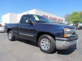 2005 Dark Blue Metallic Chevrolet Silverado 1500 LS Regular Cab #54913248