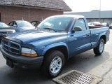 2003 Atlantic Blue Pearlcoat Dodge Dakota SXT Regular Cab #54913246