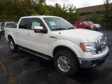 2011 White Platinum Metallic Tri-Coat Ford F150 Lariat SuperCrew 4x4 #54912944