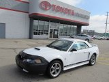 2002 Oxford White Ford Mustang V6 Convertible #54912924
