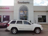 2006 Stone White Jeep Grand Cherokee Limited 4x4 #54912900
