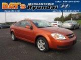 2007 Sunburst Orange Metallic Chevrolet Cobalt LT Coupe #54913427