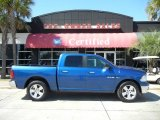 2009 Deep Water Blue Pearl Dodge Ram 1500 Big Horn Edition Crew Cab #54912882