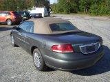 2002 Onyx Green Pearl Chrysler Sebring LX Convertible #54912878