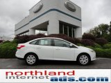 2012 Oxford White Ford Focus SE Sedan #54912848