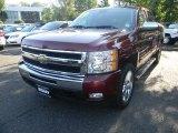 2009 Deep Ruby Red Metallic Chevrolet Silverado 1500 LT Crew Cab 4x4 #54913133