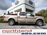 2011 Pale Adobe Metallic Ford F150 XLT SuperCrew 4x4 #54912847
