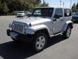 2011 Bright Silver Metallic Jeep Wrangler Sahara 4x4 #54913364