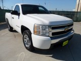 2008 Summit White Chevrolet Silverado 1500 LS Regular Cab #54913095