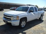 2011 Summit White Chevrolet Silverado 1500 LT Extended Cab #54913344
