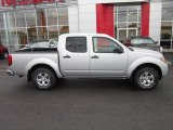 Brilliant Silver Metallic Nissan Frontier in 2012