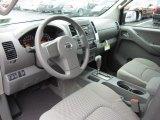 2012 Nissan Frontier SV Crew Cab 4x4 Steel Interior
