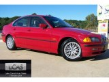 1999 Bright Red BMW 3 Series 328i Sedan #54913331