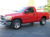 2006 Flame Red Dodge Ram 1500 ST Regular Cab #54913053