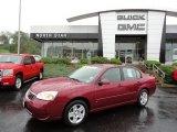 2007 Sport Red Metallic Chevrolet Malibu LT Sedan #54913050
