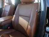 2010 Toyota Tundra Limited Double Cab 4x4 Red Rock Interior