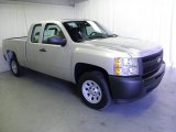 2012 Silver Ice Metallic Chevrolet Silverado 1500 Work Truck Extended Cab #54963991