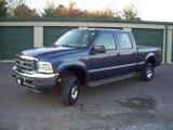 2004 Medium Wedgewood Blue Metallic Ford F250 Super Duty FX4 Crew Cab 4x4 #54963676