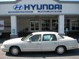 1997 White Diamond Cadillac DeVille Sedan #54963661