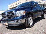 2007 Patriot Blue Pearl Dodge Ram 1500 SLT Quad Cab #54963647