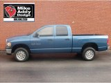 2005 Atlantic Blue Pearl Dodge Ram 1500 ST Quad Cab 4x4 #5490950
