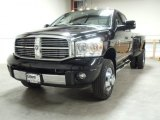 2008 Dodge Ram 3500 Laramie Quad Cab 4x4 Dually Front 3/4 View