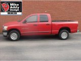 2006 Flame Red Dodge Ram 1500 ST Quad Cab #5490964