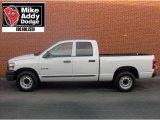 2008 Bright White Dodge Ram 1500 ST Quad Cab #5490943