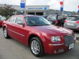 2008 Inferno Red Crystal Pearl Chrysler 300 C HEMI AWD #54964135
