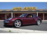 2007 Carmona Red Metallic Porsche 911 Carrera 4 Cabriolet #54964121