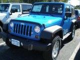 2012 Cosmos Blue Jeep Wrangler Sport S 4x4 #54963554