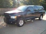 2005 Black Dodge Ram 1500 SLT Regular Cab 4x4 #54964099