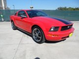 2005 Torch Red Ford Mustang V6 Premium Coupe #54963828