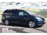2012 South Pacific Pearl Toyota Sienna LE #54963522