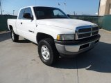 2001 Bright White Dodge Ram 1500 ST Club Cab 4x4 #54963823