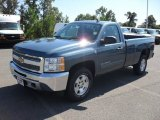 2012 Blue Granite Metallic Chevrolet Silverado 1500 LT Regular Cab #54964080