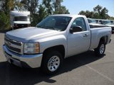 2012 Silver Ice Metallic Chevrolet Silverado 1500 LS Regular Cab #54964079