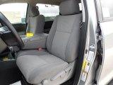 2012 Toyota Tundra Texas Edition CrewMax Graphite Interior
