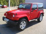 2012 Flame Red Jeep Wrangler Sahara 4x4 #54964061