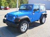 2012 Cosmos Blue Jeep Wrangler Sport S 4x4 #54964060