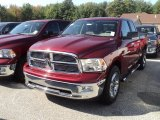 2012 Deep Cherry Red Crystal Pearl Dodge Ram 1500 Big Horn Quad Cab 4x4 #54964029