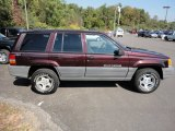 1997 Jeep Grand Cherokee Dark Rosewood Pearl