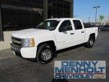 2008 Summit White Chevrolet Silverado 1500 LS Crew Cab 4x4 #54964010
