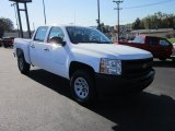 2012 Summit White Chevrolet Silverado 1500 Work Truck Crew Cab 4x4 #55019560