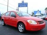 2007 Victory Red Chevrolet Cobalt LS Sedan #545969