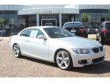 2012 Titanium Silver Metallic BMW 3 Series 335i Convertible #55019281