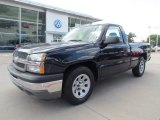 2005 Dark Blue Metallic Chevrolet Silverado 1500 LS Regular Cab #55019266