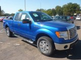 2011 Blue Flame Metallic Ford F150 XLT SuperCab 4x4 #55018965