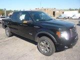 2011 Ebony Black Ford F150 FX4 SuperCrew 4x4 #55018964
