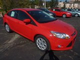 2012 Race Red Ford Focus SE Sedan #55018958